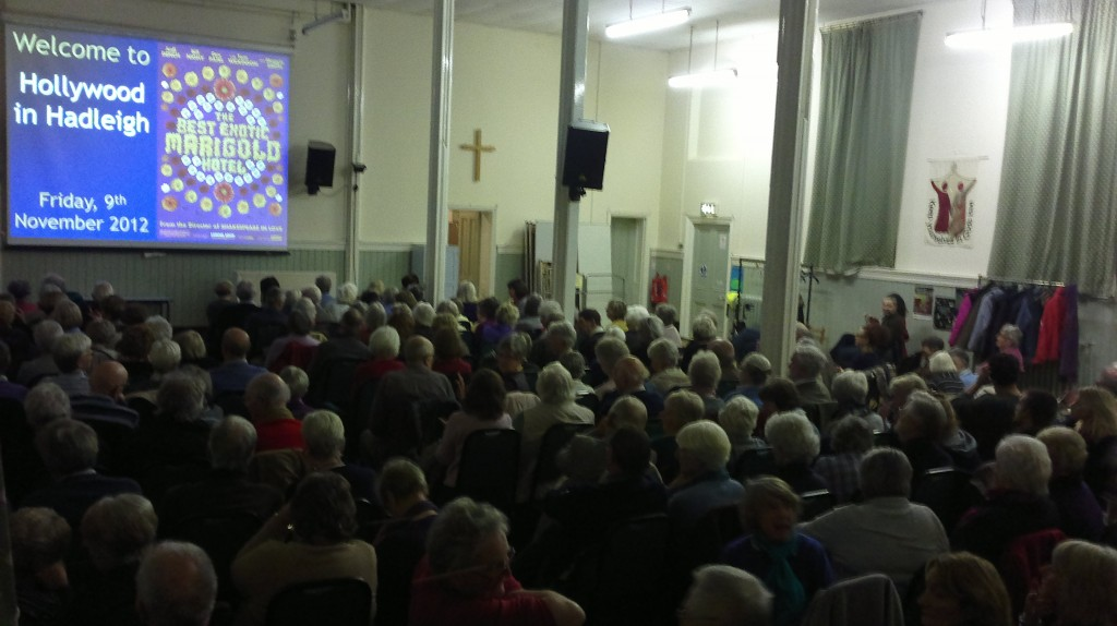 Full House at 'Hollywood in Hadleigh', 9th November 2012